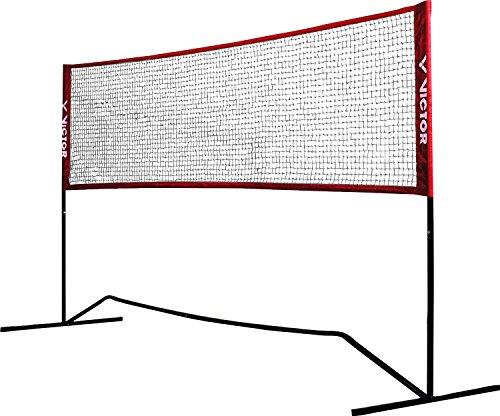 VICTOR Premium Multifunktionsnetz - Badminton, Tennis, Fußballtennis uvm. - 300 cm breit; höhenverstellbar, 859/3/0