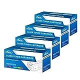 Fimpex Compatible Toner Cartucho Reemplazo para Samsung CLP-310 CLP-310N CLP-315 CLP-315W CLX-3170FN CLX-3175 CLX-3175FN CLX-3175FW CLX-3175N CLT-P4092S (Negro/Cian/Magenta/Amarillo, 4-Pack)