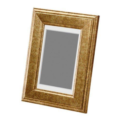 IKEA VIRSERUM -Gold -Rahmen - Farbe - 10x15 cm