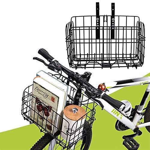 自転車かご 自転車カゴ 折りたたみ式 簡単脱着 耐荷重30KG 前かご 後ろかご バスケット 自転車 マウンテンバイククロスバイク 折り畳み自転車 通勤車等用