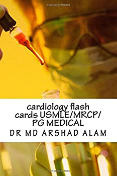 Paperback cardiology flash cards USMLE: review book