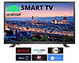 IVELECT 100 cm (40 inches) HD Android Smart LED TV (Black) (2020 Model)