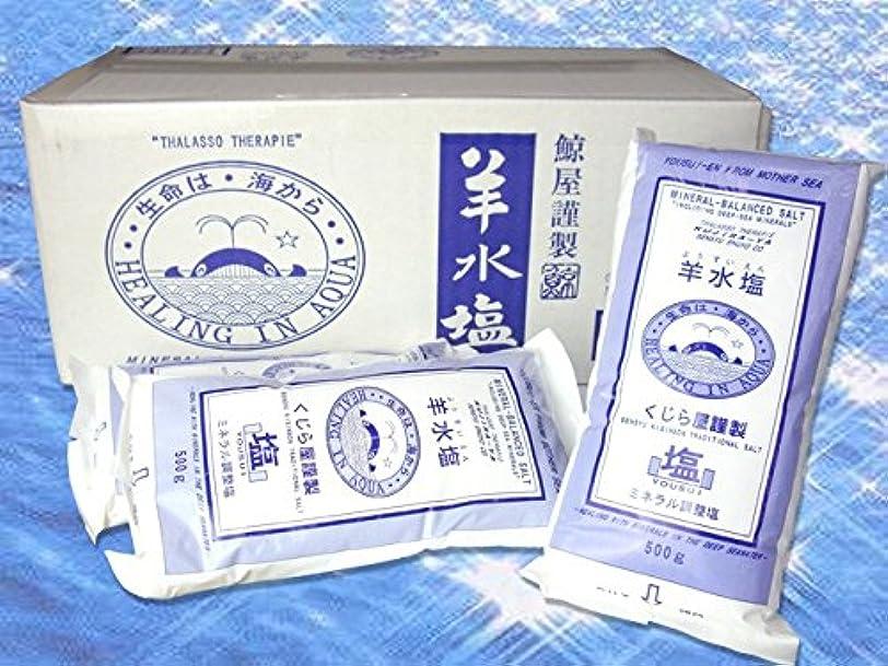 口述甘くする急行する美容 入浴剤 羊水塩 500g×20袋 ミネラルや海洋深層水イオン等を人体液と同様に配合 ミネラル調整塩