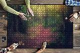 AMTTGOYY 1000 Piezas de representación 3D de sintoísmo japonés Junto a cerezos japoneses Rompecabezas de Piezas Grandes para Adultos Juguete Educativo para niños Juegos creativos