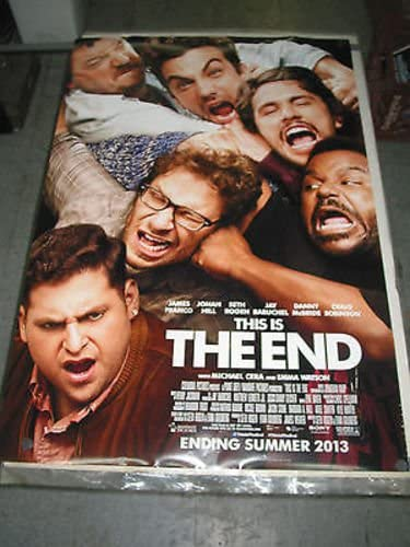 THIS IS THE END ORIG. U.S. SHEET POSTER MOVIE FRANCO Direct sale Factory outlet of manufacturer ONE JAMES