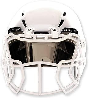EliteTek Football & Lacrosse Eye-Shield Visor (Mirrored)