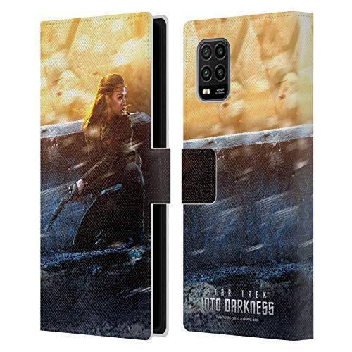 Head Case Designs Offizielle Zugelassen Star Trek Uhura Poster Into Darkness XII Leder Brieftaschen Handyhülle Hülle Huelle kompatibel mit Xiaomi Mi 10 Lite 5G
