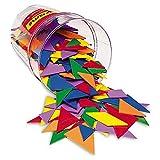 Learning Resources- Piezas de Tangram de Cuatro Colores (LER0416) , color/modelo surtido