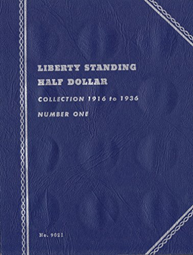 1916-1936 LIBERTY STANDING HALF DOLLAR 35 COIN WHITMAN No 9021 COIN; ALBUM, BINDER, BOARD, BOOK, CARD, COLLECTION…