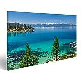bilderfelix® Bild auf Leinwand Türkisfarbenes Wasser von