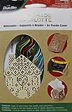 Bucilla Wood Stitchable Shapes Kit, 86498 - Casa de pan de jengibre
