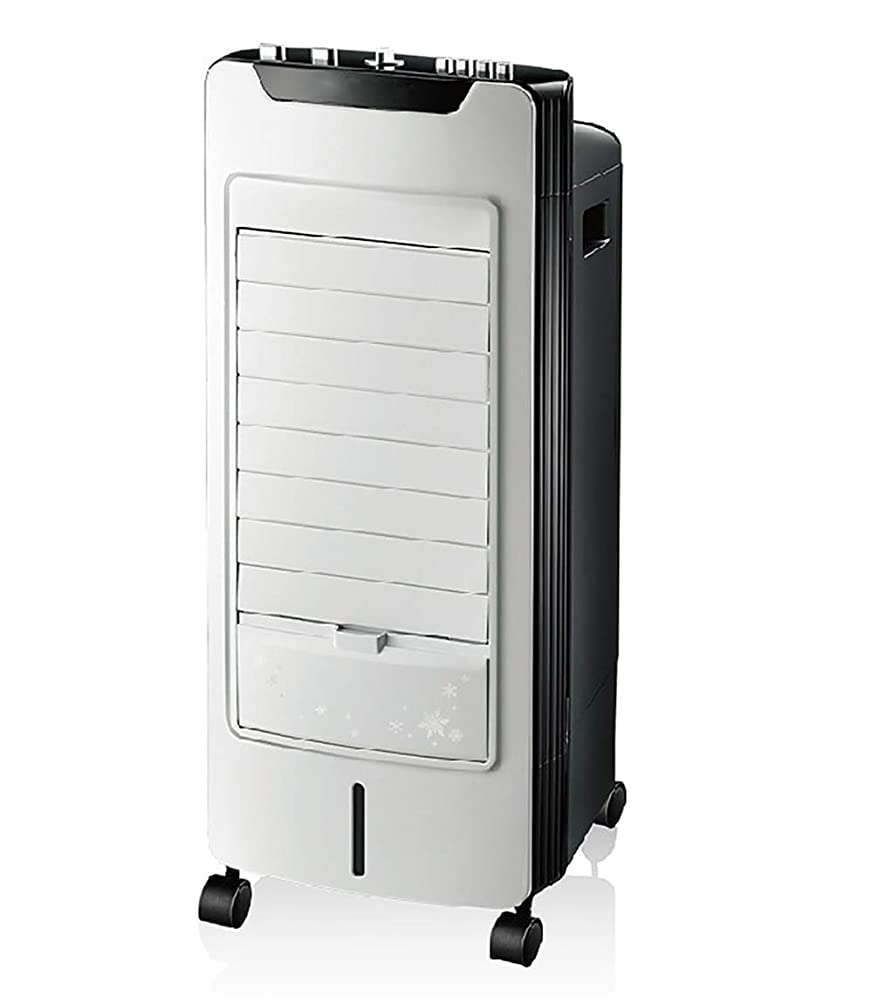 知り合いになる絶壁溶岩冷風機モバイル自宅用エアコンファンポータブルオフィス低騒音扇風機小型クーラー サイズ:32 * 32 * 72 * Cm