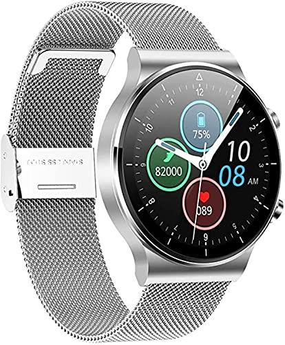 wyingj Reloj Inteligente De Los Hombres De La Llamada De Bluetooth IP68 Impermeable Deportes Fitness Watch-D