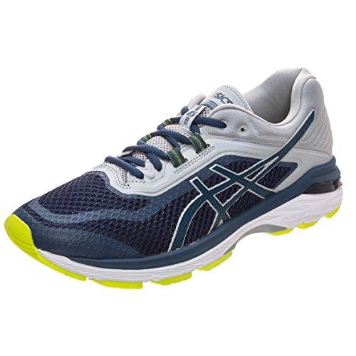 Asics Gt-2000 6, Zapatillas de Running Hombre, Azul (Dark Bluedark Bluemid Grey 4949), 50.5 EU