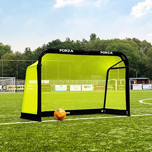FORZA Aluminum Pod Folding Soccer Goal   Premium Target Soccer Goal   Soccer Training Equipment   Soccer Goals & Soccer Net   Pro Practice Goals   Kids Soccer Goals (6ft x 4ft, Without Carry Bag)