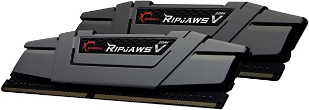 G.Skill Ripjaws V Series 16GB (2 x 8GB) 288-Pin SDRAM DDR4 3200 (PC4 25600) Intel Z170 Desktop Memory F4-3200C16D-16GVGB