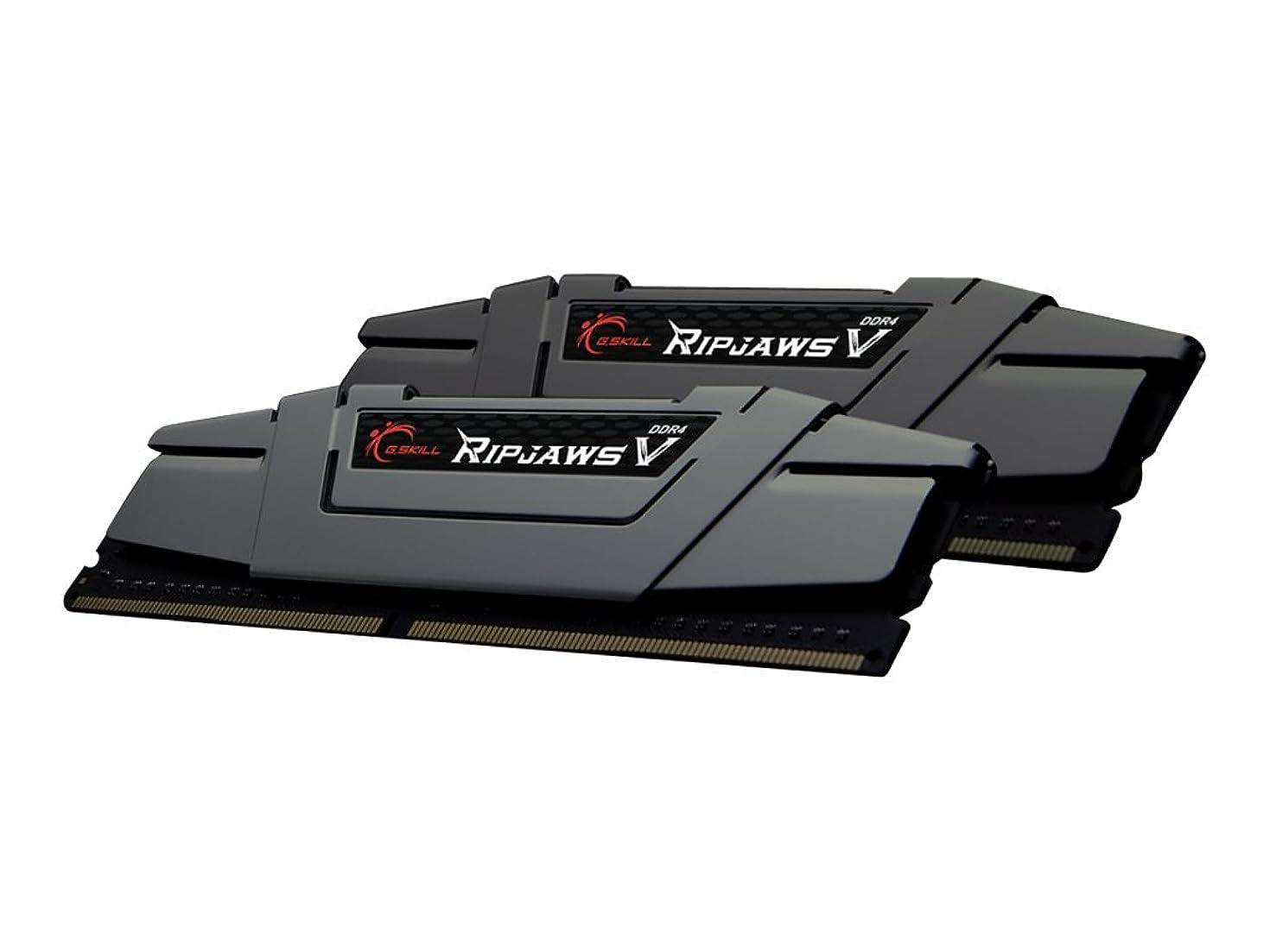 G.Skill Ripjaws V Series 16GB (2 x 8GB) 288-Pin SDRAM DDR4 3200 (PC4 25600) Intel Z170 Desktop Memory F4-3200C16D-16GVGB