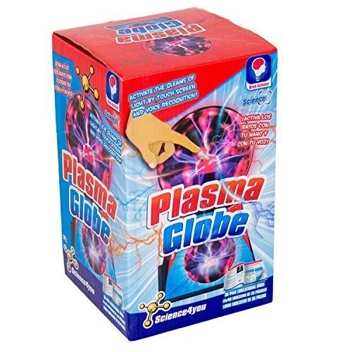 Science4You-Globo de Plasma-Juguete cientfico y Educativo (80001000)