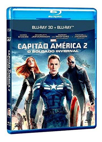 Capitão América 2 - O Soldado Invernal Blu-ray 3D + Blu-ray