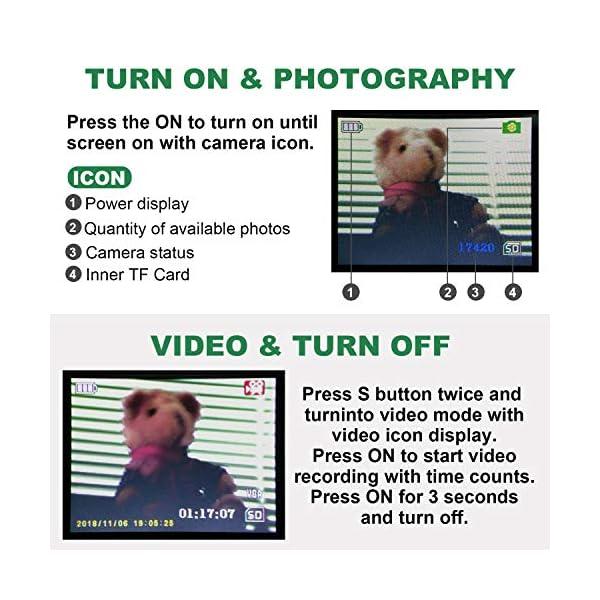 Monocular infrarrojo de visión Nocturna en HD de 8x40 con cámara Digital; reproducción de Video; Salida USB; para Caza y Vida Silvestre. Distancia de visión de 150 m en la Oscuridad; 1