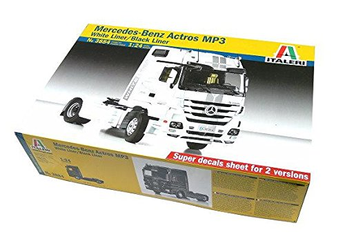 RCECHO® ITALERI Truck & Trailers Model 1/24 Mercedes-Benz Actros MP3 Hobby 3884 T3884 with 174; Full Version Apps Edition