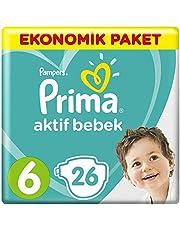 Prima Bebek Bezi Aktif Bebek 6 Beden Ekstra Large