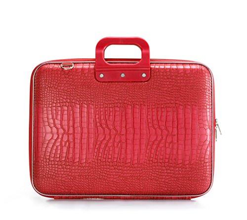 Bombata Bombata - Valigetta per computer portatili da 17', colore: Rosso brillante