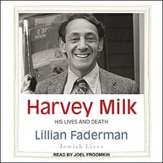 Harvey Milk audiobook cover art