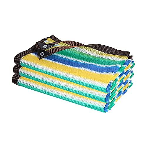 TYHZ Malla sombreo Shade Net 80% Shade Cloth - PERGOLAS PERGOLAS PERGOLAS Top Top - Agua y Aire Permeable Toldo para el jardín de Patio al Aire Libre Malla de sombreo (Color : A, Size : 8x10m)