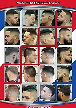 Barber Poster - Barber Shop Poster - Features Latinos with Modern Haircuts Laminated for Fade Prevention - Dimension  24 x 36 Inches in Size Great Images Barbers Will Love
