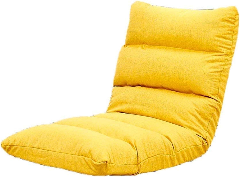JMTLLLDY Bodenstuhl, Faltbarer Balkon Meditationsstuhl Lounge Chair Einzelne Sitzmbel, Mehrfarben Optional