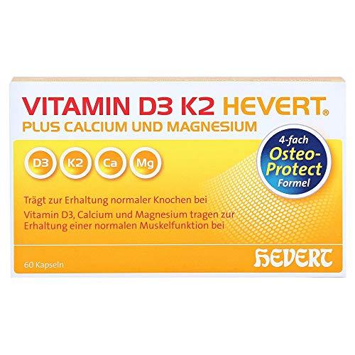 VITAMIN D3 K2 Hevert Plus Kapseln 60 Stück