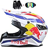 casco red bull motocross