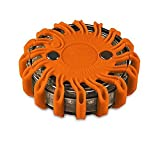 Powerflare LED Batterie Signallicht in orange