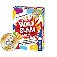 Thames & Kosmos Word Slam Family   Fast-Paced Multiplayer Party Card & Word Game   High Playercount   Based On The Award Winning Word Slam
