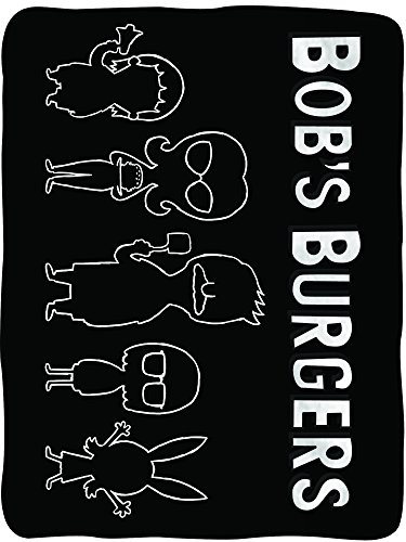Bob's Burgers Soft Fleece Blanket - Officially licensed Bobs...