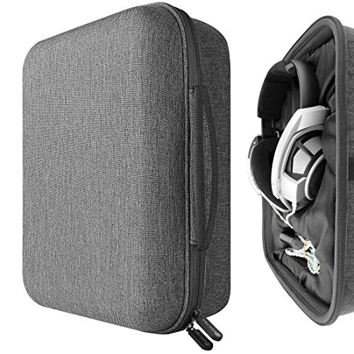 Geekria Custodia rigida per cuffie HD820, HD800 S, HiFiMAN Ananda-BT, Arya, HE1000, Audeze LCD-2, LCD-3 Headphones, Auricolari Borsa da viaggio