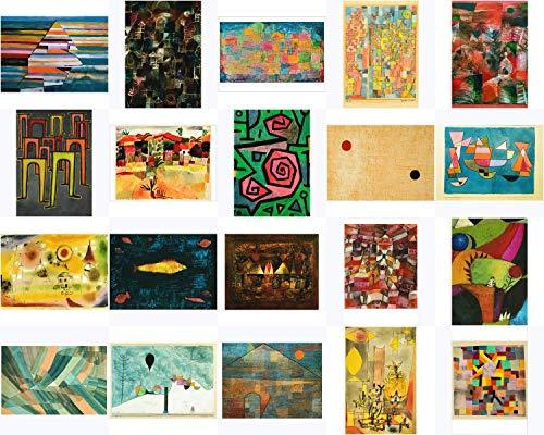 Kunstkarten-Set Paul Klee