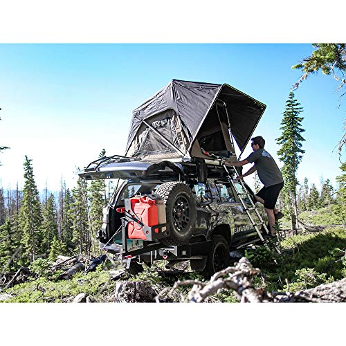 Freespirit Recreation Adventure Series Manual 3 Person 55 Inch Rooftop Tent