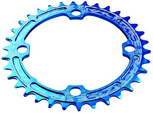 Race Face Single Narrow Wide Chainring 104 BCD blau Ausführung 32T 2017 Kettenblatt