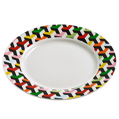 Maxwell & Williams rl0033 Assiette, Porcelaine, multicolore, 20 cm