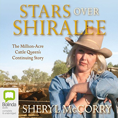 Stars over Shiralee audiobook cover art
