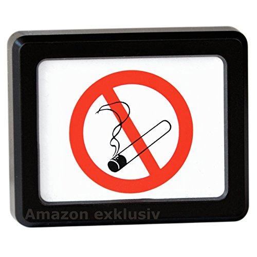 Preisvergleich Produktbild Rauchen verboten Auto KFZ Fotorahmen Bilderrahmen aus 1980 (Art. 9816)