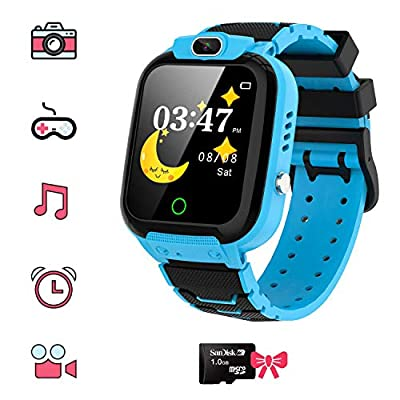 Kids Smart Watch for Boys Girls - HD Touch Scre...