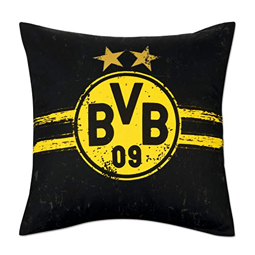BVB-Kissen Eat. Sleep. Borussia. Repeat one Size
