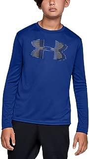 Under Armour boys Tech Big Logo Long Sleeve T-Shirt