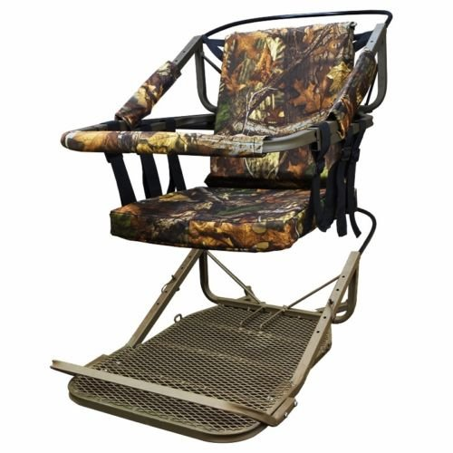 Chonlakrit Tree Stand Climber Climbing Hunting Deer Bow Game Hunt Portable 300lb