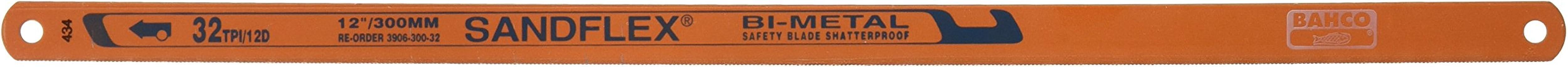 Bahco Sandflex Bi-metall handsågblad, 3 blad, 18, 24 och 32 TPI