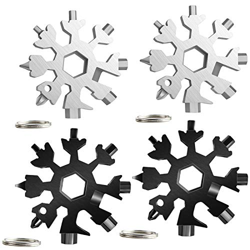Snowflake Multi Herramienta 18 en 1 4 piezas