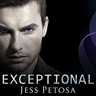 Exceptional: Exceptional Series, Book 1                   By:                                                                                                                                 Jess Petosa                               Narrated by:                                                                                                                                 Emily Durante                      Length: 7 hrs and 5 mins     15 ratings     Overall 3.5